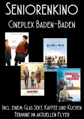 Seniorenkino im Cineplex Baden-Baden