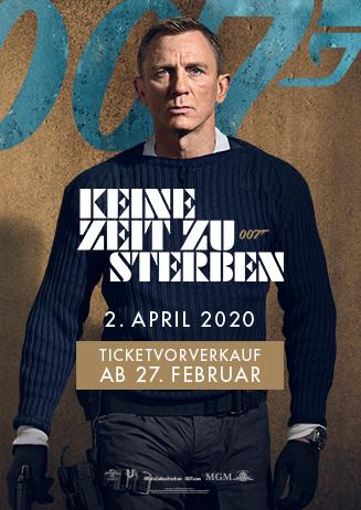 Vorverkauf: 007 - Keine Zeit zu sterben