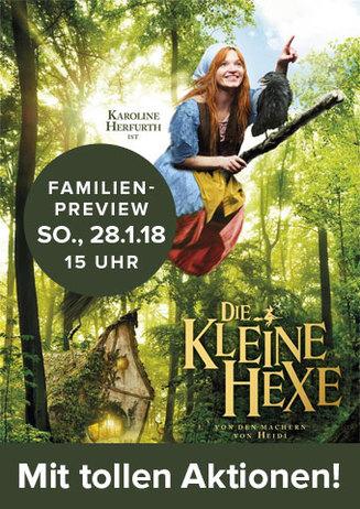 Familien-Preview: Die kleine Hexe
