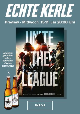 Echte Kerle Preview: The Justice League