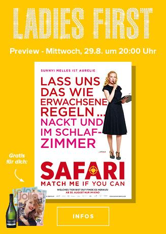 Ladies-First-Preview: SAFARI