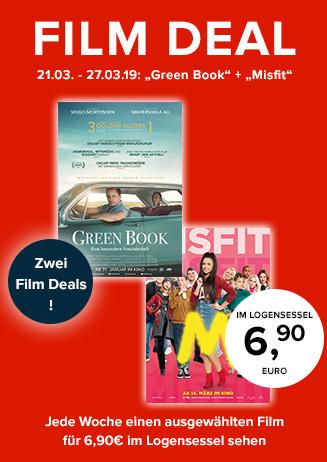 "Film Deal: ""Green Book"" + ""Misfit"""