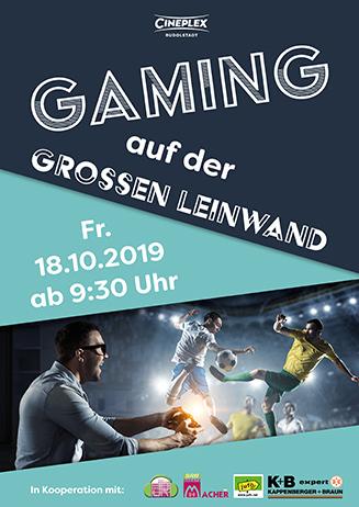 Gaming im Kino 18.10.2019