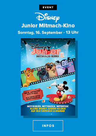 Disney Junior Mitmach-Kino 2018