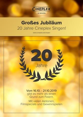 20 Jahre Cineplex Singen
