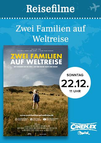 """Reisefilm: """"Zwei Familien auf Weltreise"""""""