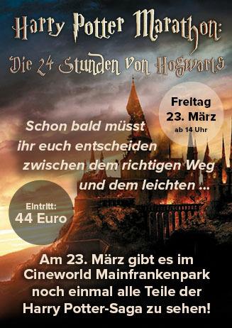 """180323 """"24 Stunden von Hogwarts"""""""