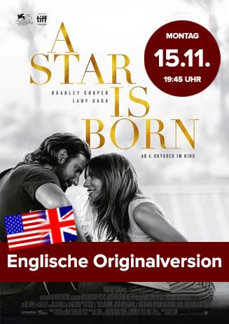 """Englische OV: """"A Star is born"""""""