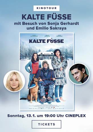 KALTE FÜSSE Kinotour