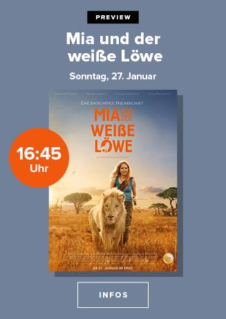 """Preview: """"Mia und der weiße Löwe"""""""