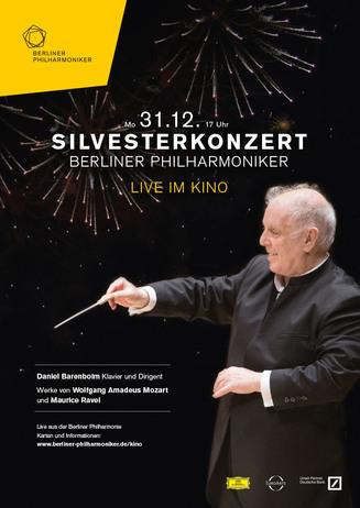 Berliner Philharmoniker Silvesterkonzert 2018/19 mit Daniel Baren