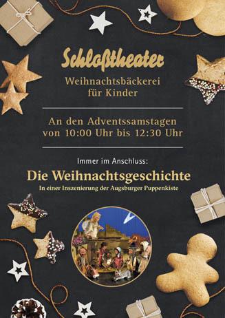 Weihnachtsbäckerei für Kinder im Schloßtheater