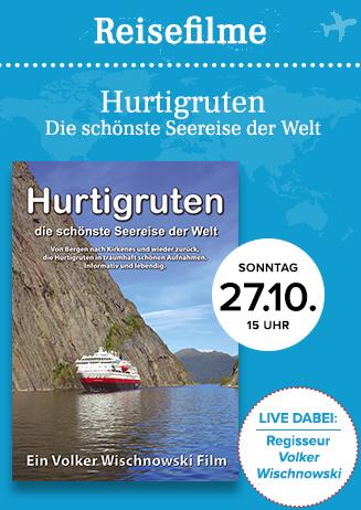 """Reisefilm: """"Hurtigruten - Die schönste Seereise der Welt"""""""