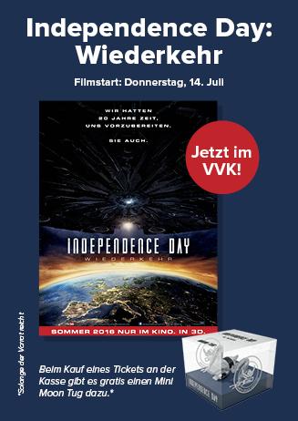 INDEPENDENCE DAY 2: WIEDERKEHR - Vorverkauf