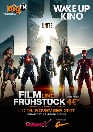 "Wake Up Kino: ""Justice League"""