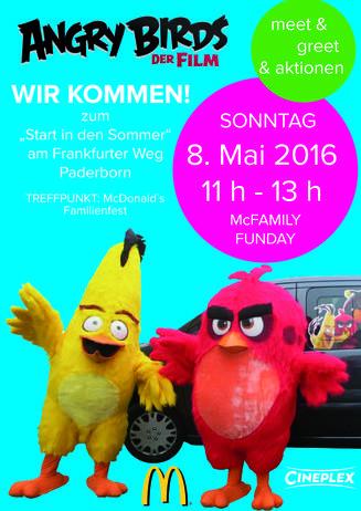"""Kids aufgepasst: Lasst euch mit den """"Angry Birds"""" zum """"Start in d"""