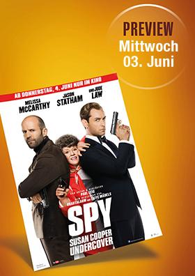 Vorpremiere: Spy - Susan Cooper Undercover