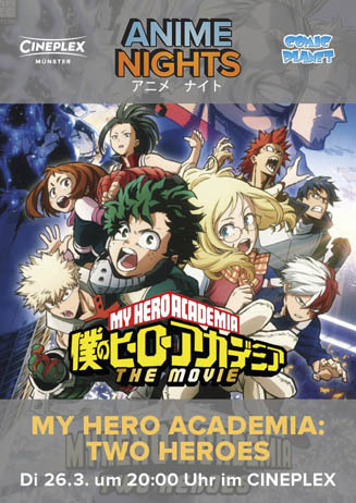 Anime Night: My Hero Academia: Two Heroes