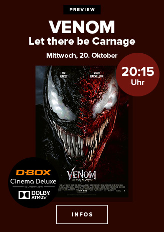 """Preview: ,,VENOM - Let there be Carnage"""""""