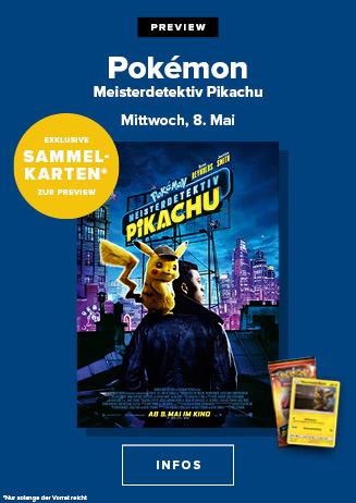 "190508 Preview ""Pokémon Meisterdetektiv Pikachu"""