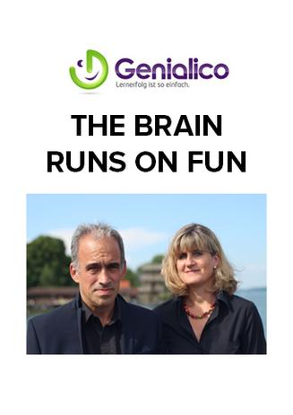 """""""THE BRAIN RUNS ON FUN"""" - Genialico"""