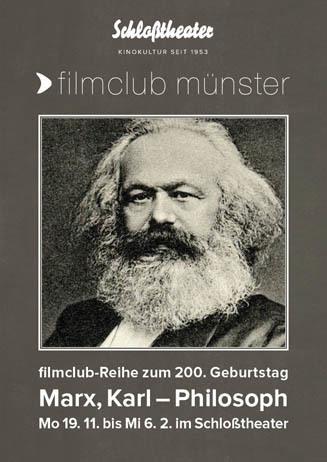 filmclub münster: Marx, Karl – Philosoph