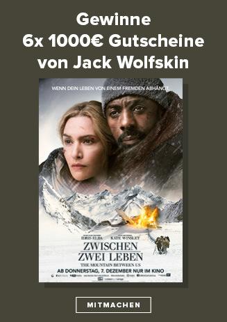 Gewinnspiel: Jack Wolfskin