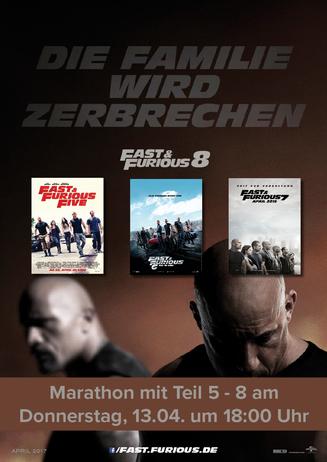 Marathon Fast & Furious 5-8 SI