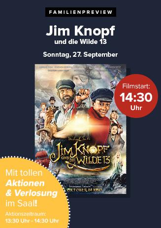 """Familienpreview: """"Jim Knopf und die Wilde 13"""""""