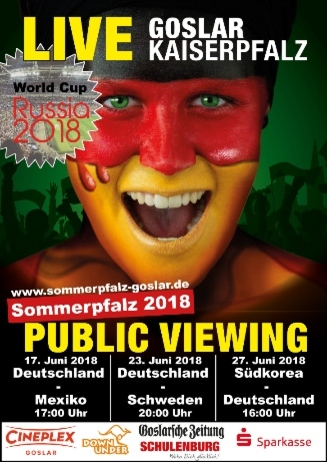 Sommerpfalz 2018 - Public Viewing vor der Kaiserpfalz