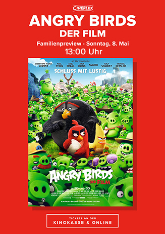 Familienpreview: Angry Birds - Der Film