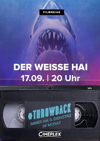 #Throwback: DER WEISSE HAI