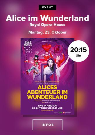 Royal Opera House 2017/18: Alice im Wunderland