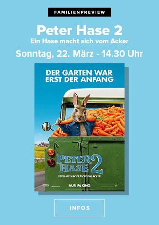 """200322 FamPrev """"Peter Hase 2 - Ein Hase macht sich vom Acker"""""""