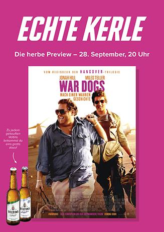 Echte-Kerle Preview: War Dogs