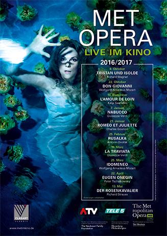 Met Opera 2016/17: Eugen Onegin (Tschaikowsky)