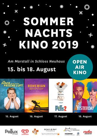 Sommernachtskino 2019