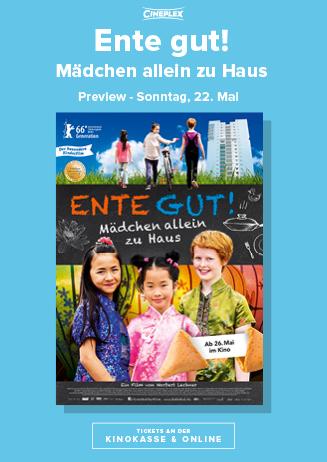 Preview: ENTE GUT - MÄDCHEN ALLEIN ZU HAUS