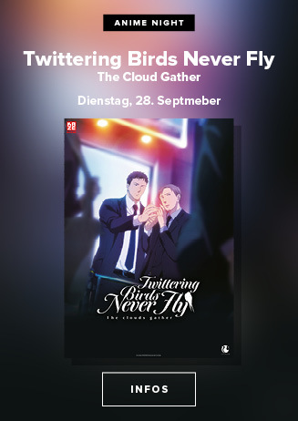Anime Night: Twittering Birds Never Fly: The Clouds Gather