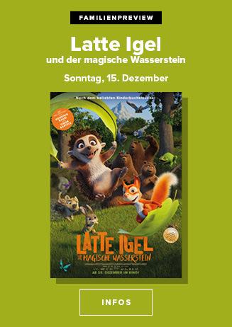 """Familienpreview: """"Latte Igel und der magische Wasserstein"""""""