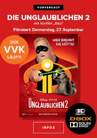 """""""Die Unglaublichen 2"""" - Der VVK läuft!"""