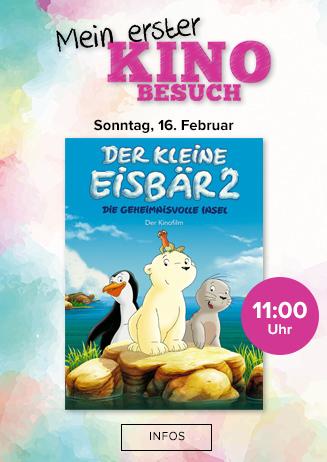 """Mein erster Kinobesuch: """"Der kleine Eisbär 2"""""""