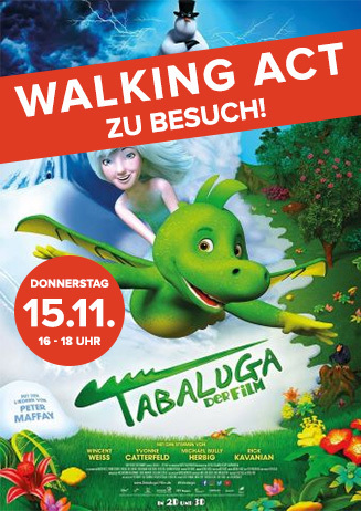 """Walking Act: """"Tabaluga - Der Film"""""""