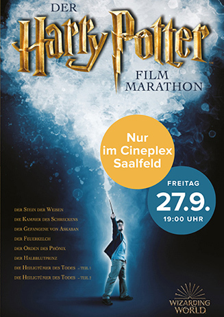 Harry Potter Marathon 27.09.2019