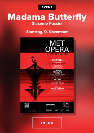 live aus der New Yorker MET: MADAME BUTTERFLY (Puccini)