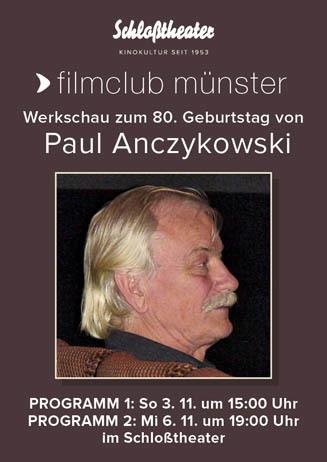 filmclub: Werkschau Paul Anczykowski