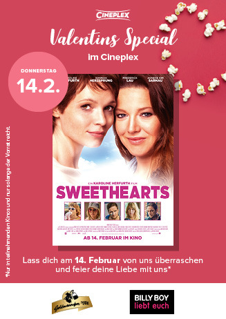 Valentinsaktion zu Sweethearts