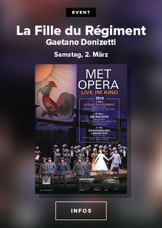 live aus der New Yorker MET: LA FILLE DU RÉGIMENT (Donizetti)