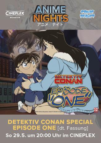 Anime Night: Detektiv Conan - Der geschrumpfte Meisterdetektiv