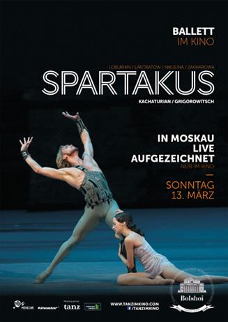 Bolshoi Ballett Moskau: SPARTAKUS